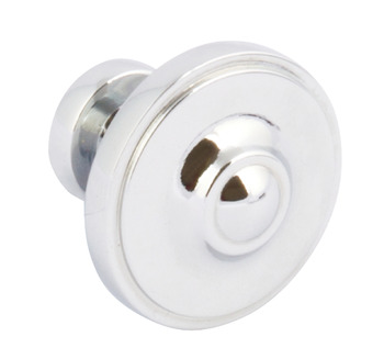 Polished Chrome 33mm Diameter Knob Handle Ariel