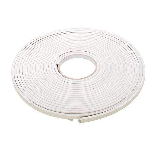 Self-Adhesive EVA Foam Gap Seal 4mm 10.5m White Draught Excluder