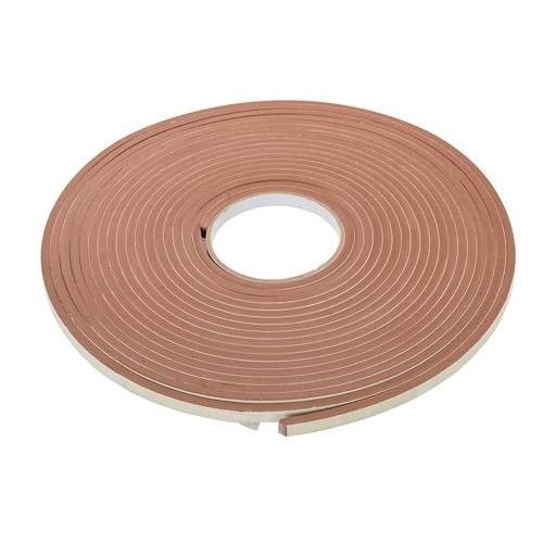 Self-Adhesive EVA Foam Gap Seal 4mm 10.5m Brown Draught Excluder