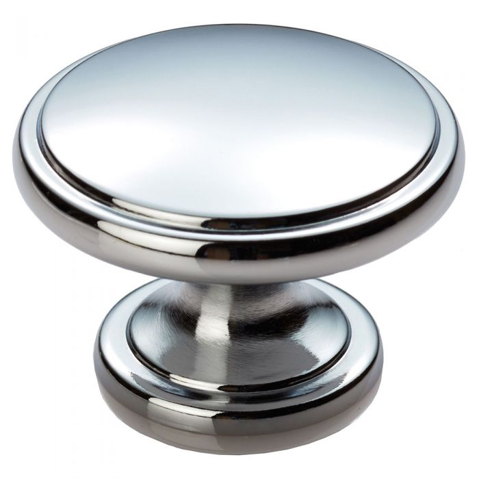 Polished Chrome 38mm Diameter Knob Handle Ariel
